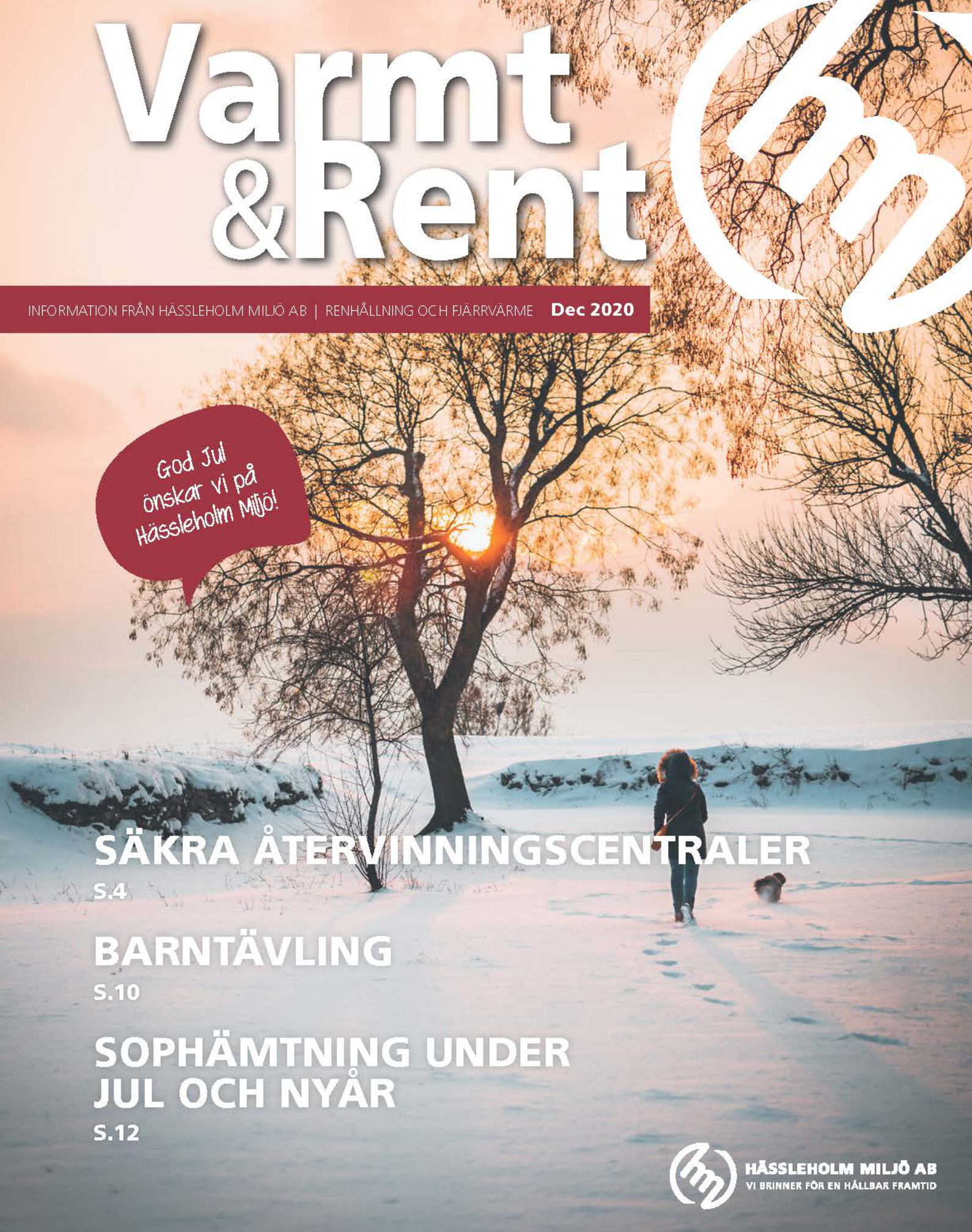 tidningsomslag varmt & rent dec 2020